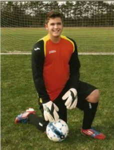 Fruitport goalkeeper Conner Deneen ready for another big season.