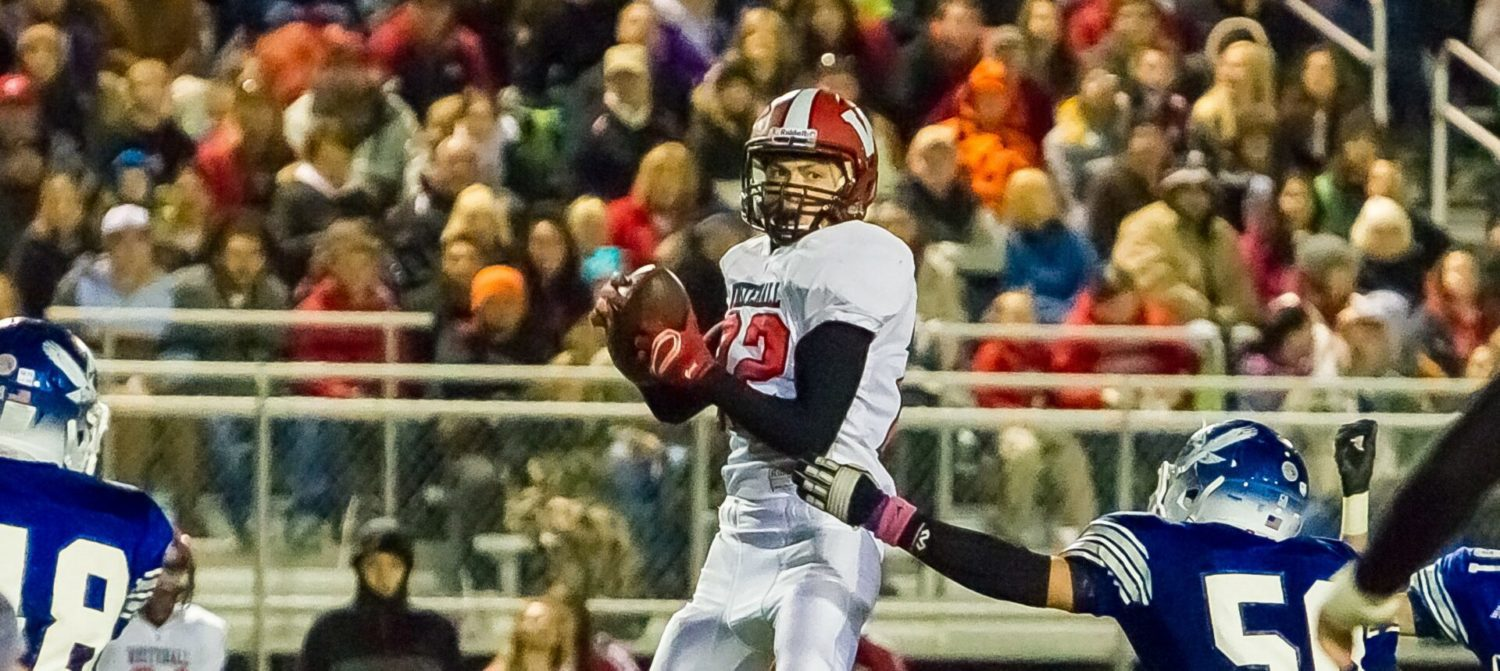Whitehall's Trip Thommen may be small, but he's been putting up big numbers for the resurgent Vikings