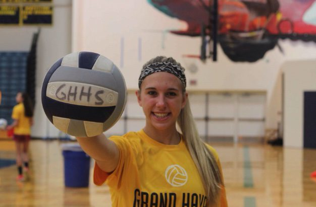 Mission accomplished: Grand Haven's Autumn Monsma has transformed herself into a dominant volleyball player