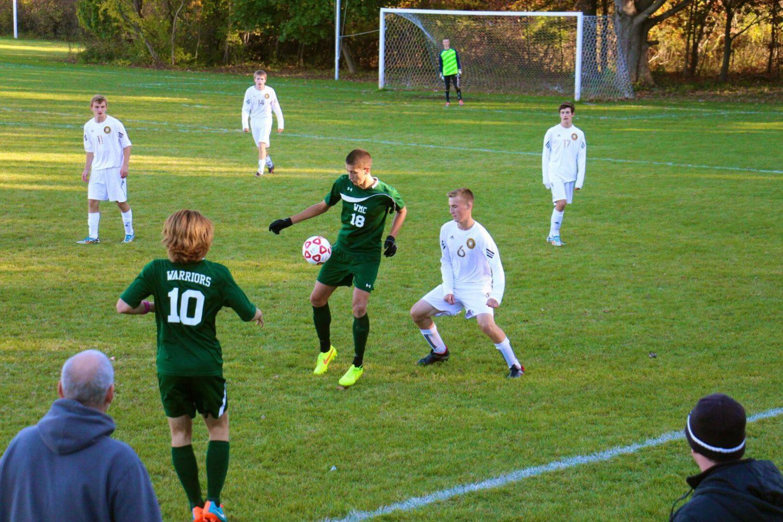 Western Michigan Christian soccer team gets fourth straight shutout, advances to Saturday's regional finals
