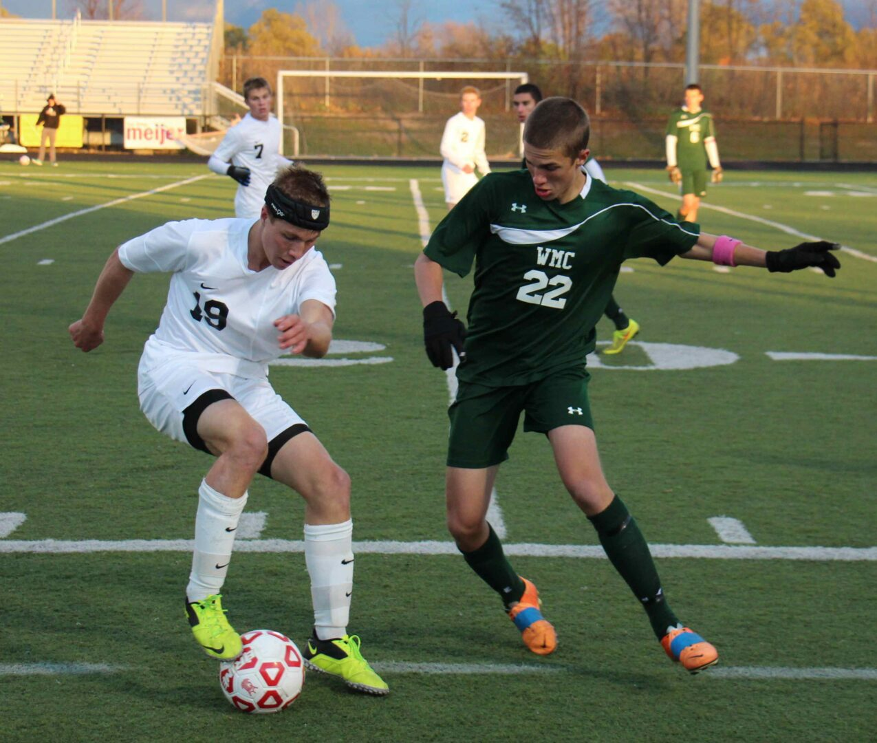 Six area boys soccer players named first-team all-staters