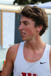 Whitehall's Keaton Smith set the new course record at 16:09.75
