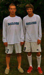 Jake DeRemer, left, and Nate Hoover