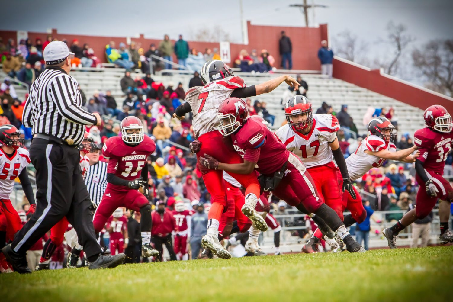 Division 3 regional preview: Beating Petoskey is the next step on Muskegon's 'ladder to the state finals'