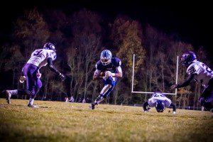 Kobe Burse on the touchdown catch. Photo/Jason Goorman