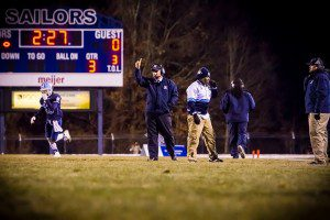 Mona Shores Coach Matt Koziak. Photo/Tim Reilly