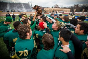 Muskegon Catholic Central, 2014 Division 8 regional champs. Photo/Tim Reilly