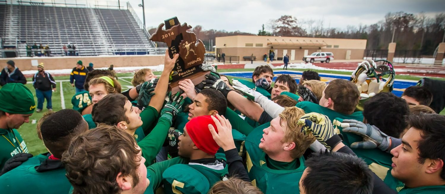 Muskegon Catholic continues its dominance in Division 8 regional championship win over Mendon