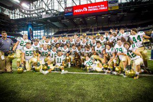 Muskegon Catholic Central 2014 Division 8 Champions photo/ Tim Reilly