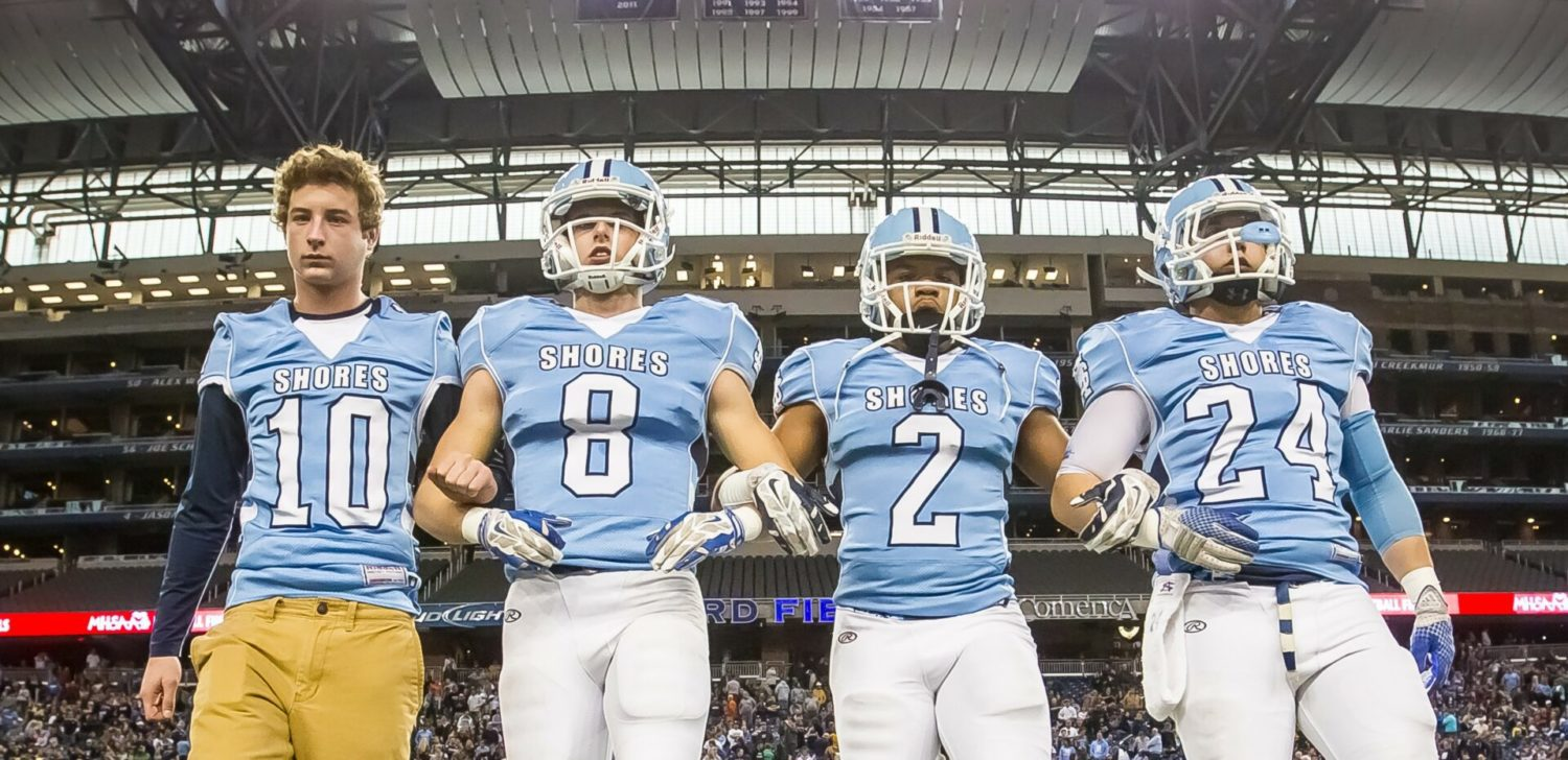 Mona Shores' football season ends with lopsided loss to Warren DeLaSalle in Division 2 state finals