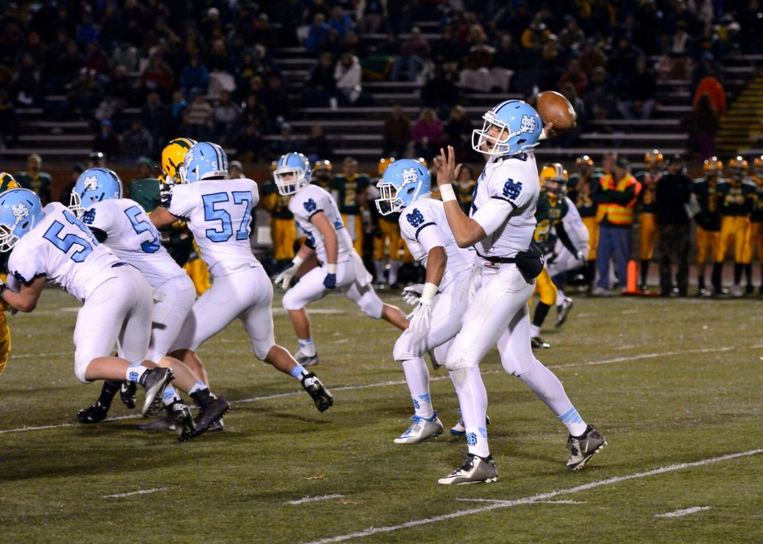 Dates and times set for next weekend's regional high school football playoff games