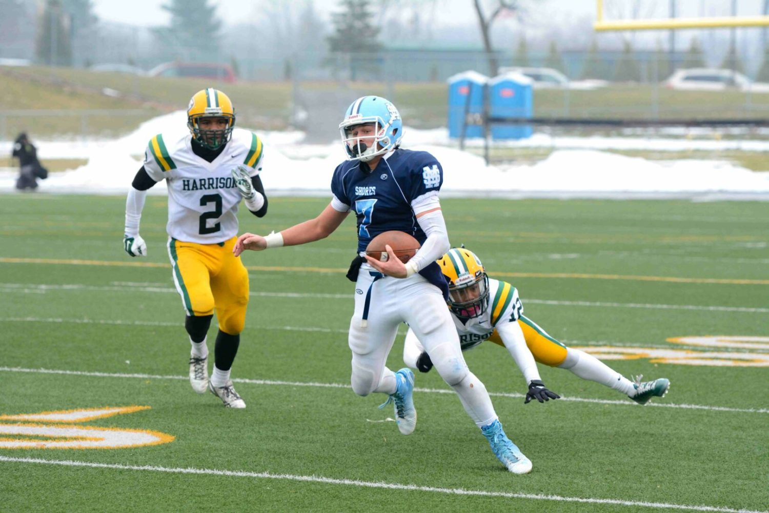Division 2 football state final preview: Mona Shores eager to play for title, no matter who starts at quarterback
