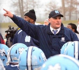 Coach Koziak continues to inspire his team after the victory as they will now move on to Ford Field.
