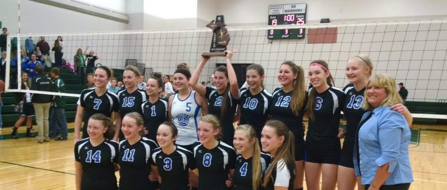 Ravenna downs Western Michigan Christian for the fourth time this year, this time in the Class C district finals