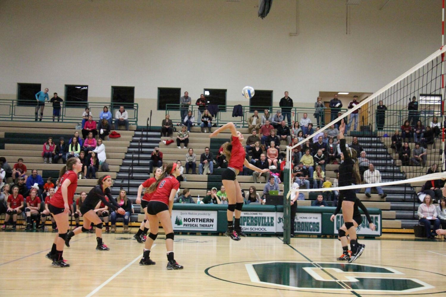 Whitehall volleyball team beats Grant 3-1, advances to the Class B regional finals