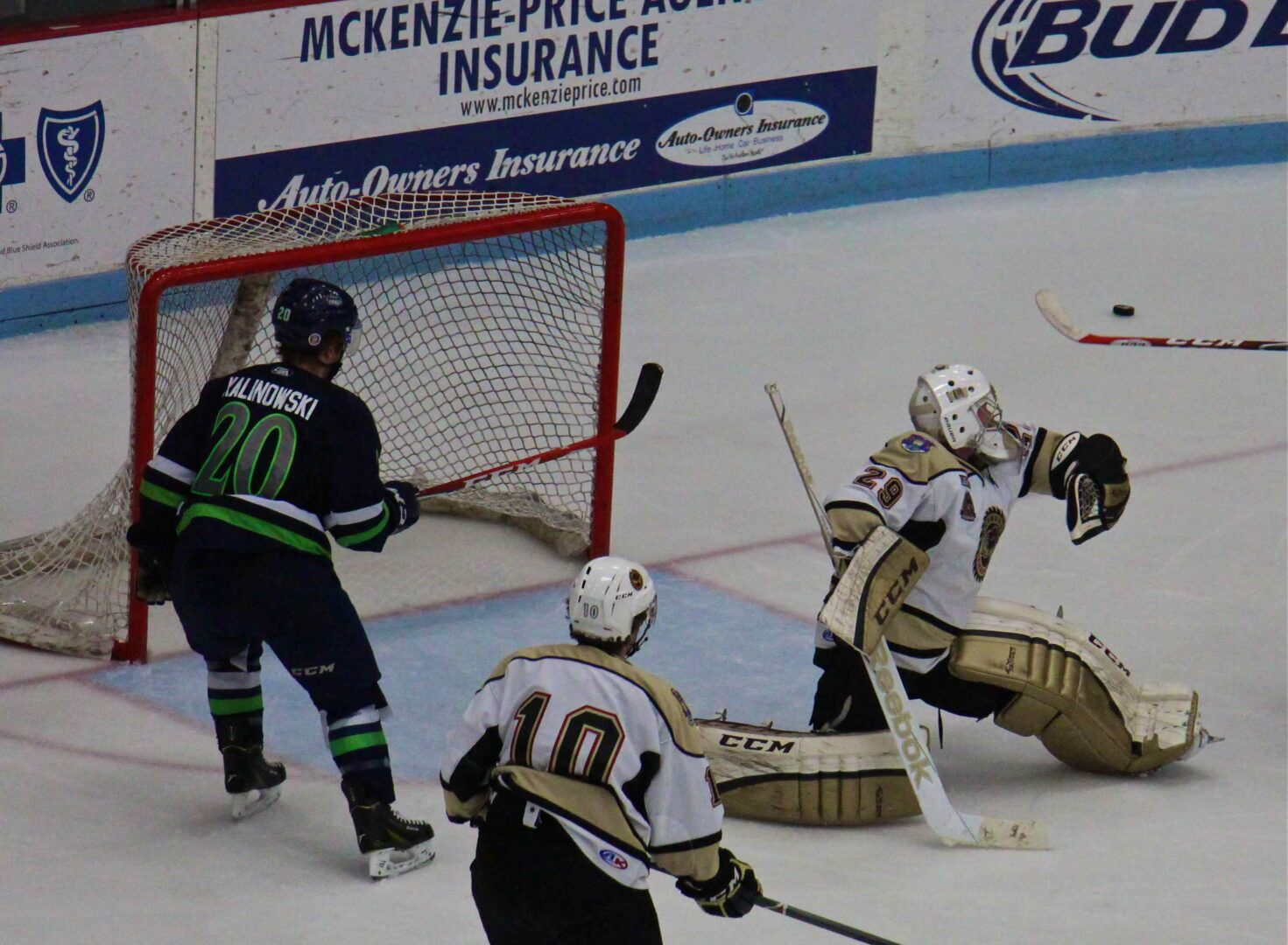 Lumberjacks rally for a 4-1 victory over Bloomington, despite injuries and sickness that have decimated the lineup