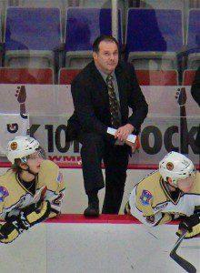 Muskegon Lumberjack Coach Todd Krygier.