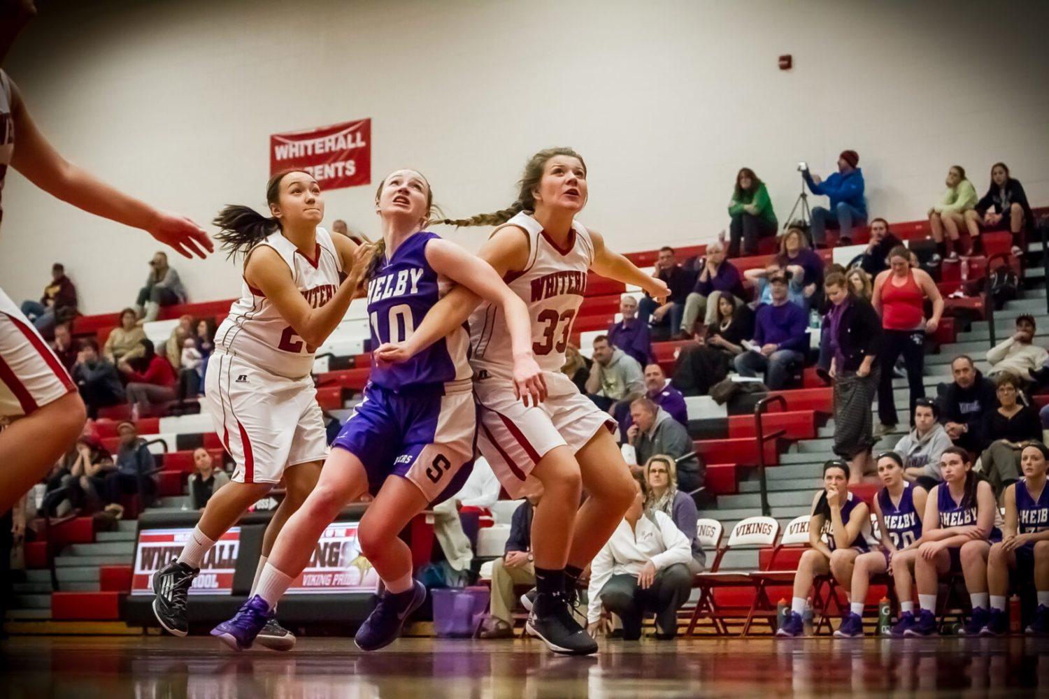 Shelby girls wake up in the second quarter, cruise to a 60-52 win over Whitehall