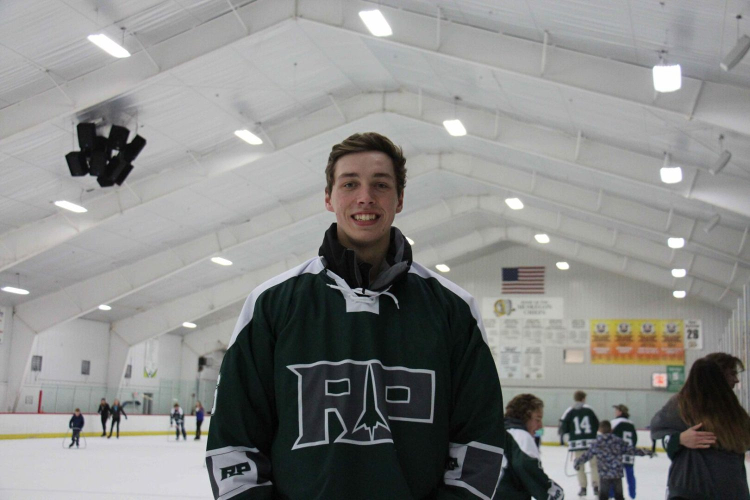 After playing with the best in the state, R-P hockey standout Brandon Young is showing how good he can be