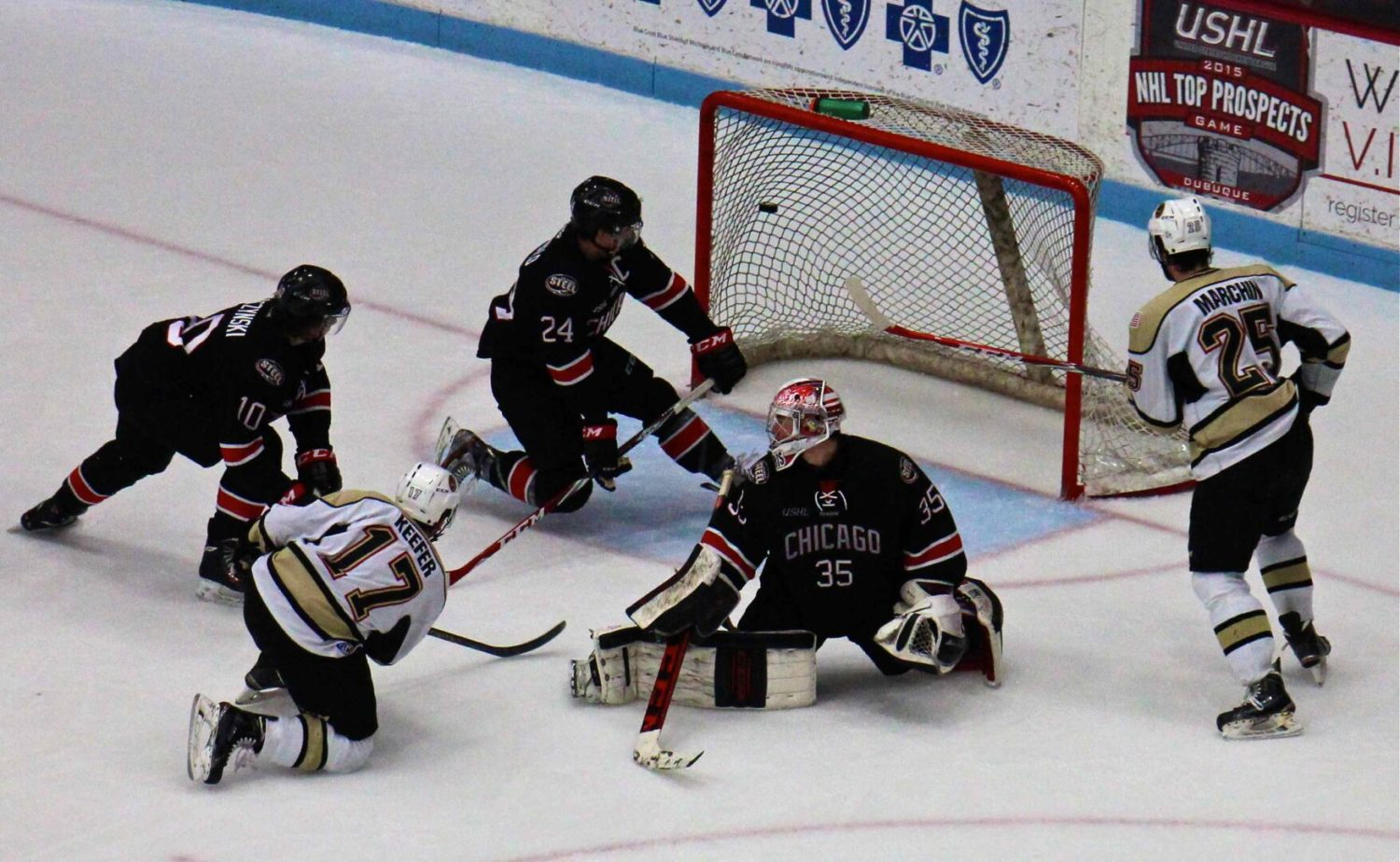 Lumberjack winless streak hits three games with a 4-2 loss to Chicago in a New Year's Eve contest