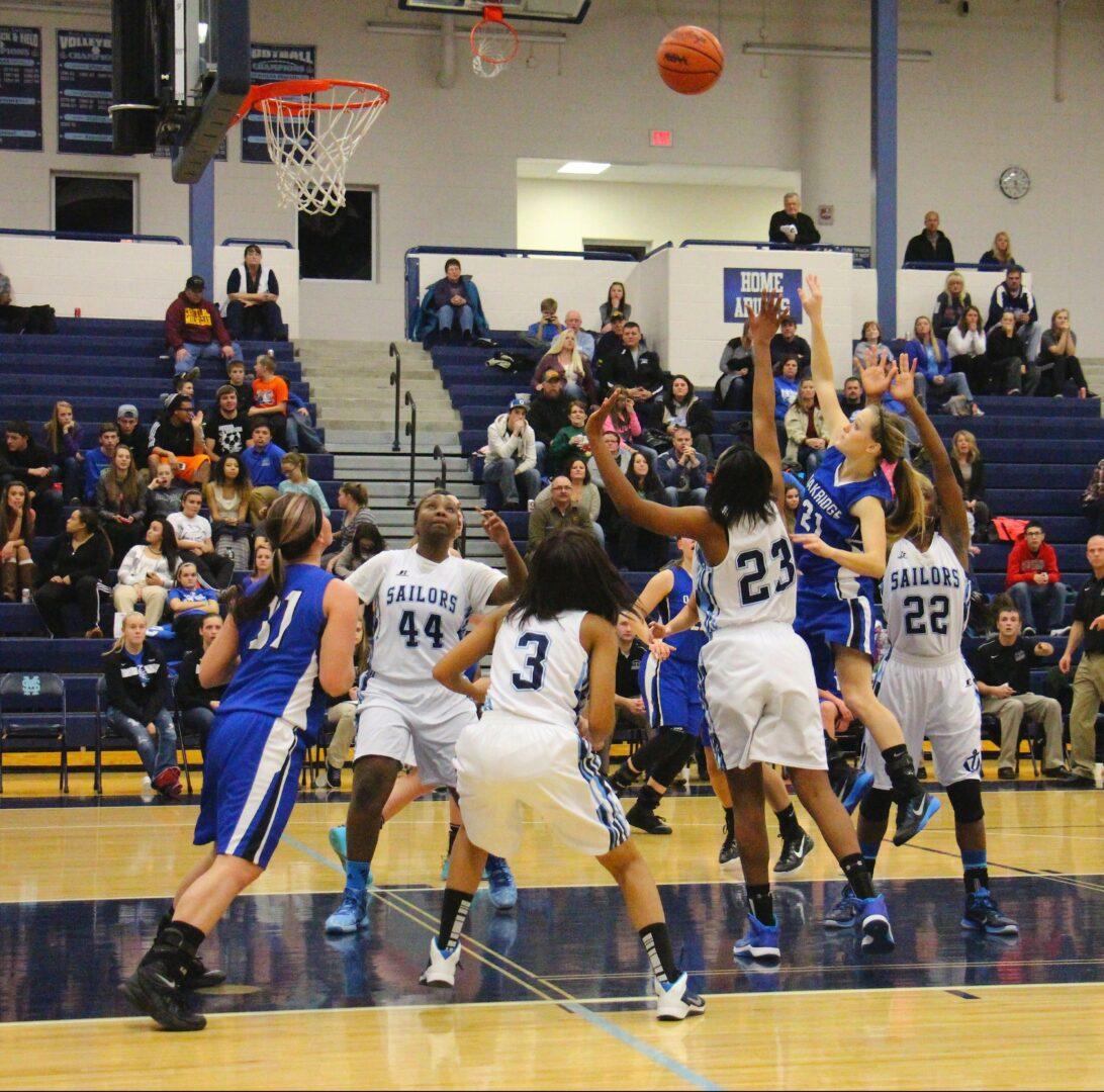 Mona Shores downs Oakridge 40-35 in the opener for both girls basketball powers