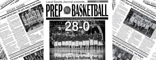 Local Sports Journal's free high school basketball preview section hits area Plumbs stores today