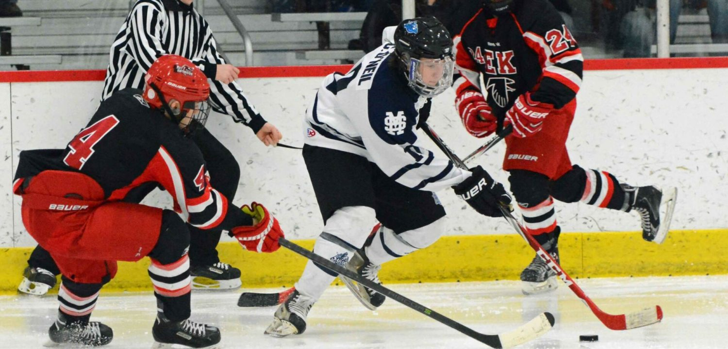 Connor Edlund scores two in Mona Shores opening round win of Konrad Memorial, Grand Haven falls to East Kentwood