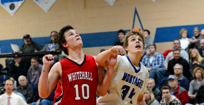 Whitehall employs a stifling defense to win the basketball battle of White Lake, 58-38
