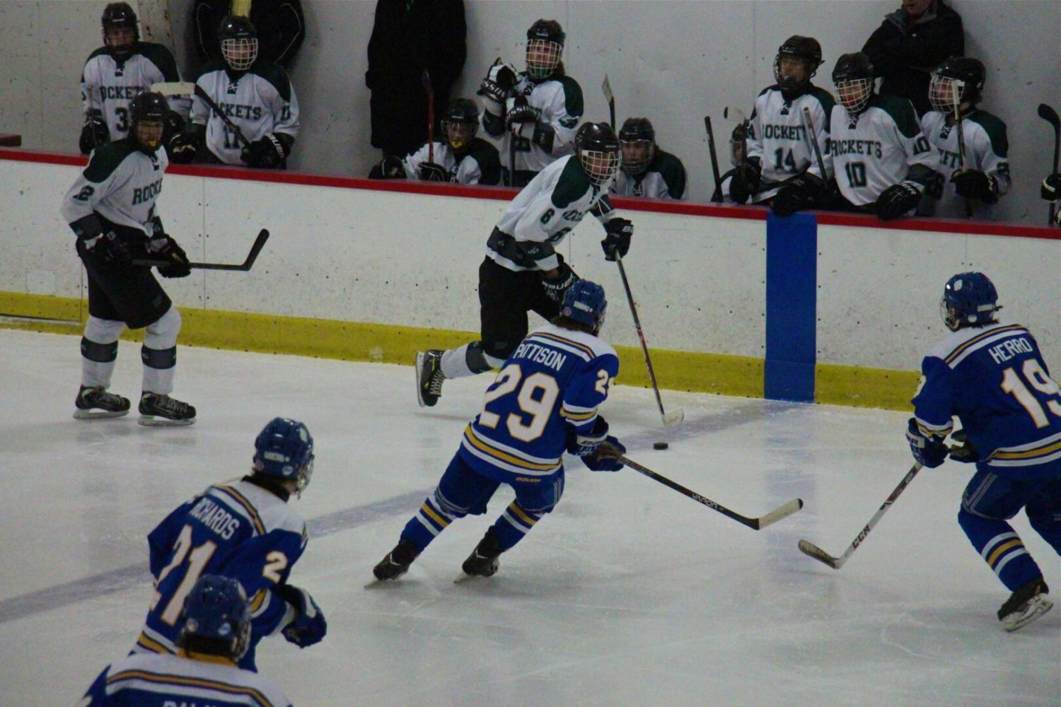 Derek Mines scores two goals for Reeths-Puffer in hockey loss to Grand Rapids Catholic Central [VIDEO]