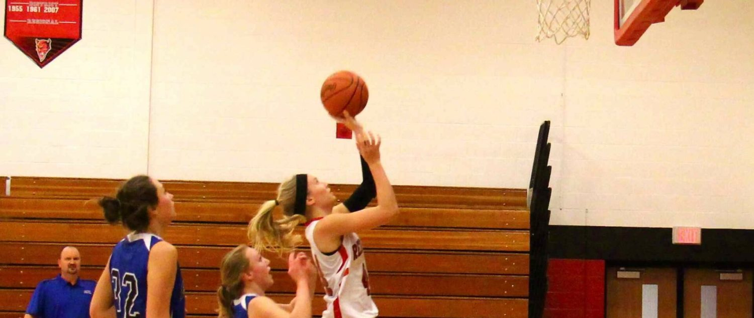 Holton girls explode for 36 points in the first quarter and beat Calvary Christian 89-70