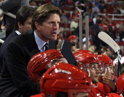 Red Wings coach Mike Babcock tells Fox Sports Detroit he will watch his son play the Lumberjacks this weekend