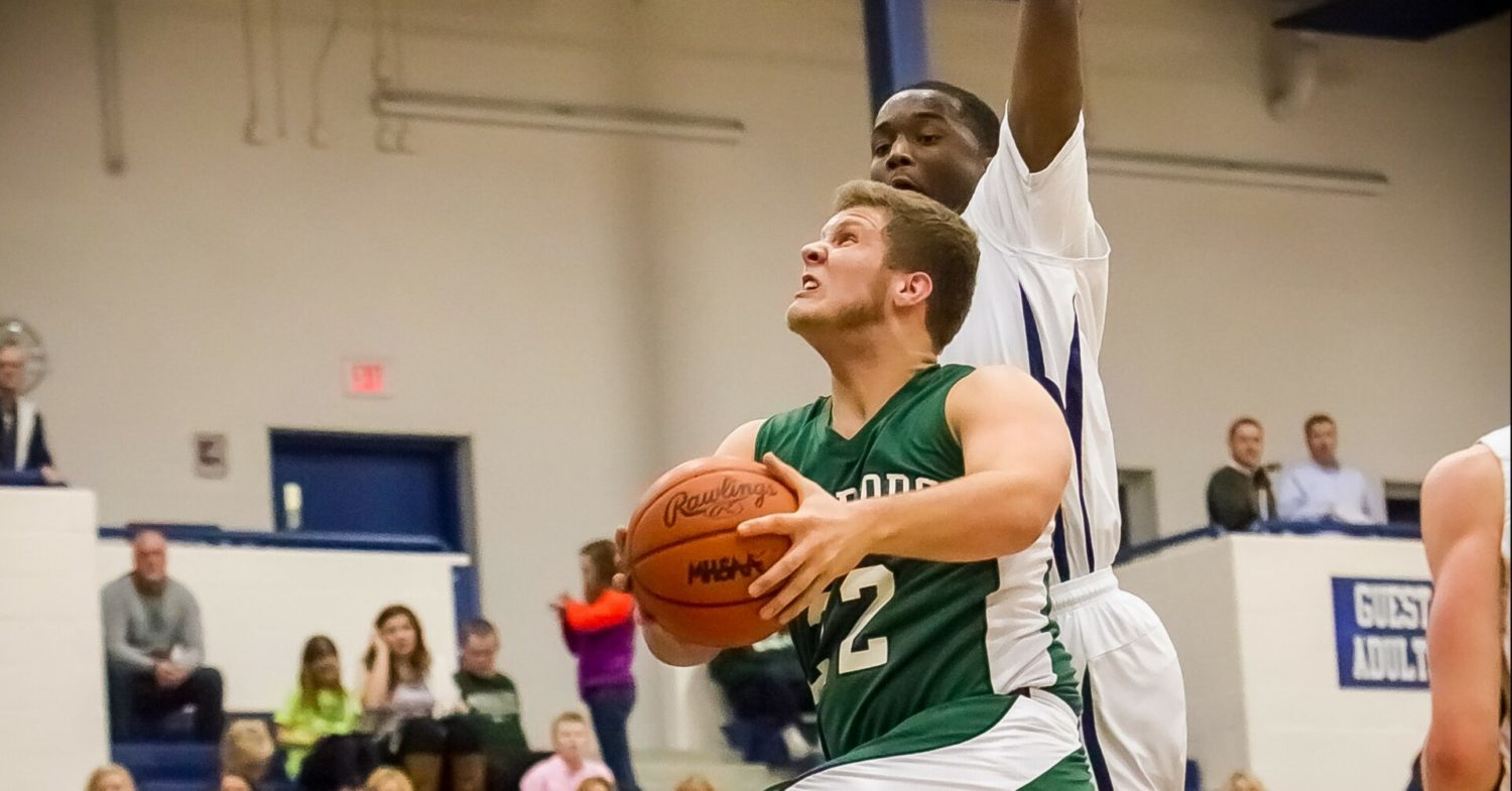 Strong second half carries Western Michigan Christian boys to victory over Mona Shores