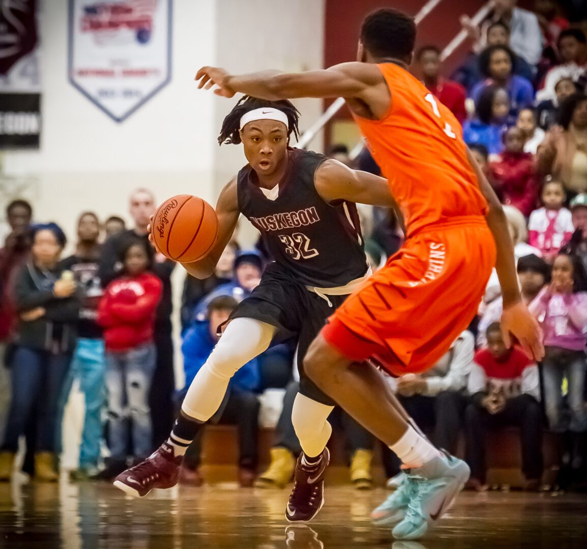 Muskegon Big Reds pound Chicago Whitney Young 76-52; Kennedy surpasses 1,000-point career mark