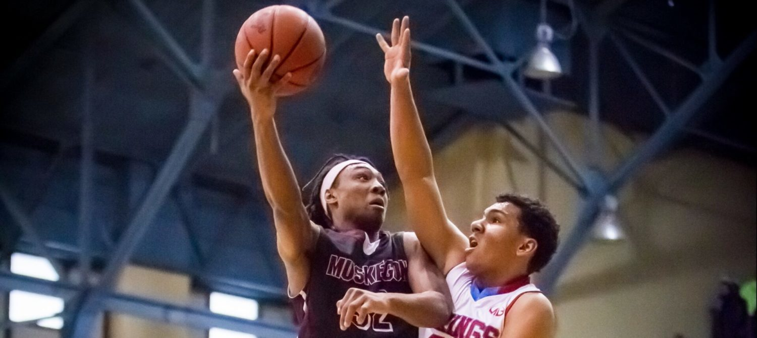 Photos and video of Muskegon against Lansing Everett in the Class A quarterfinals