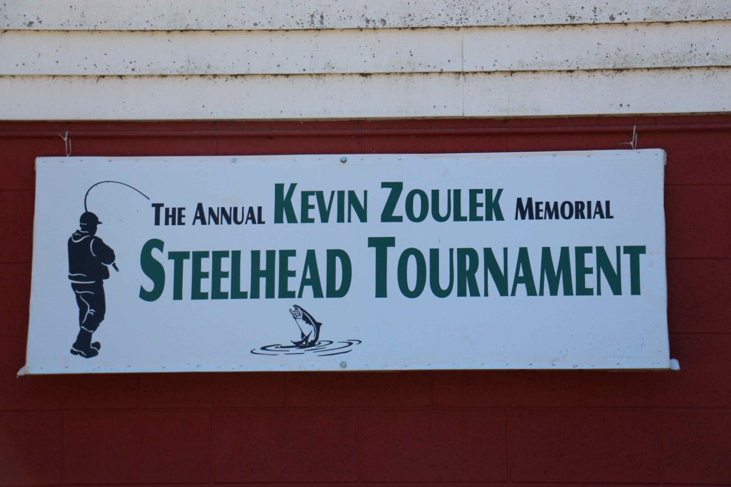 Area anglers turned out in big numbers Saturday for the Kevin Zoulek Memorial Steelhead Tournament