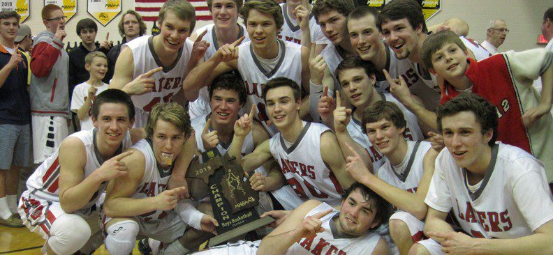 Spring Lake shows no fear, rallying to upset a tall Holland Christian squad in the Class B regional finals