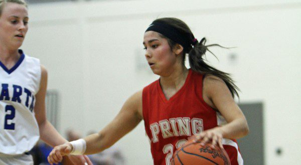 Spring Lake girls basketball team drops its first game, and ends its season, with a 44-37 loss to Sparta in regionals