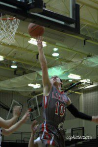 Kyle Zietlow gets to the basket for Spring Lake. Photo/Carol Cooper