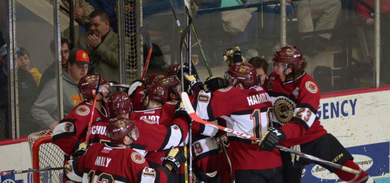 Lumberjacks get another come-from-behind win, beat Youngstown 4-2 and clinch the first-round playoff series