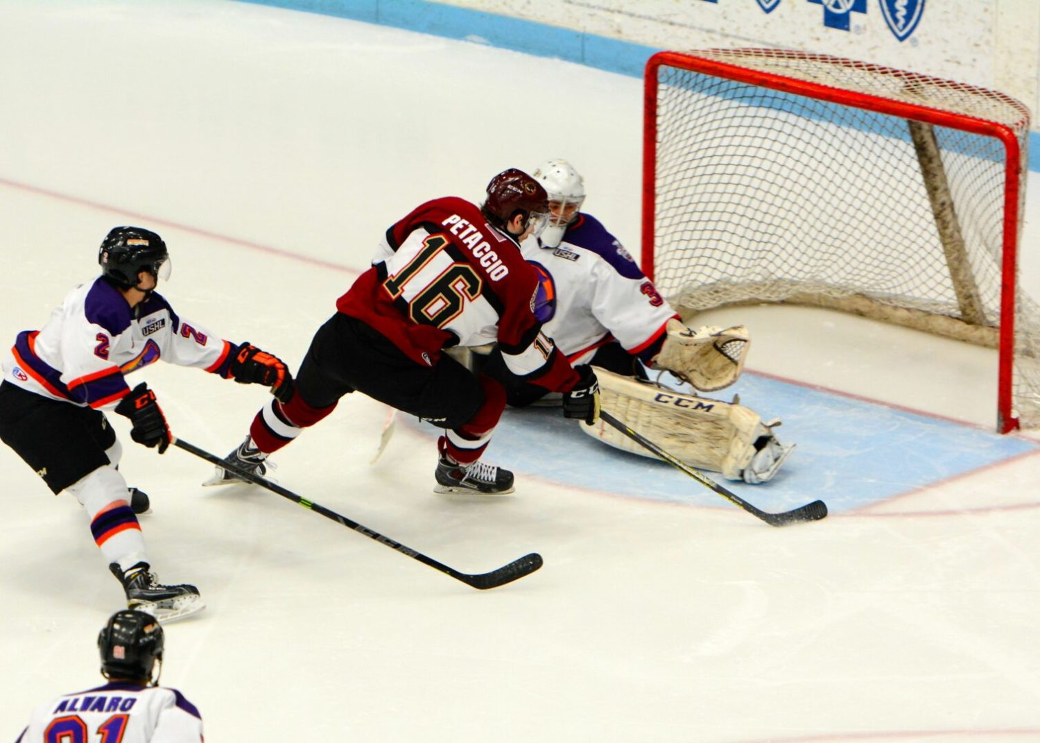 Iacopelli scores the winner in OT, giving the Lumberjacks a 5-4 win over Youngstown in their playoff opener