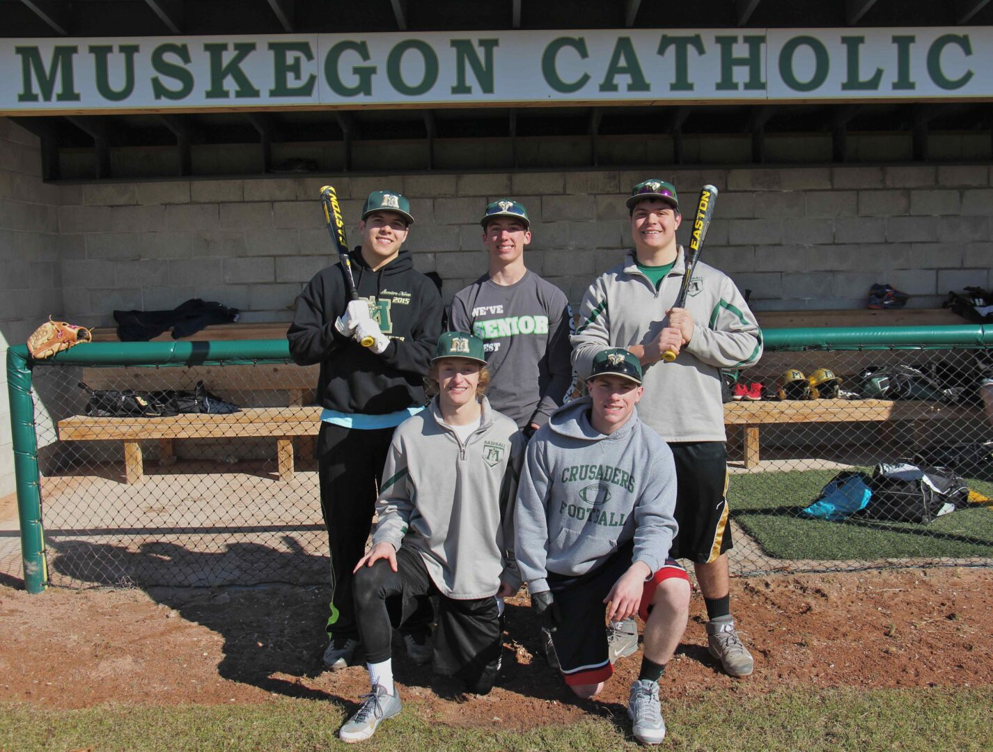 After last year's tough finish, Muskegon Catholic baseball team may have the tools to make another title run