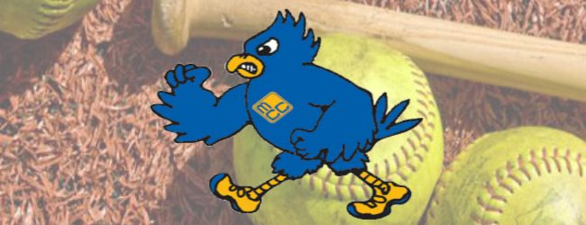 Jayhawk softball team ends season with blowout losses to Lansing