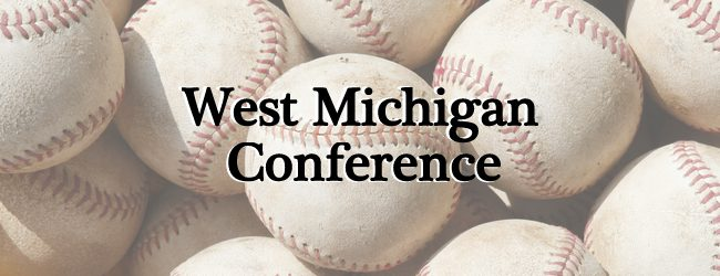 West Michigan Conference baseball roundup: Oakridge rallies in Game 2 to sweep Shelby