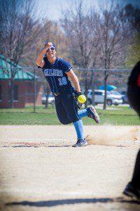 Mona Shores pitcher