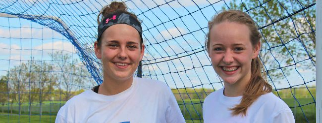 Sisters Audrey Hanson and Sydney Hanson are propelling the Ravenna soccer team to its finest season