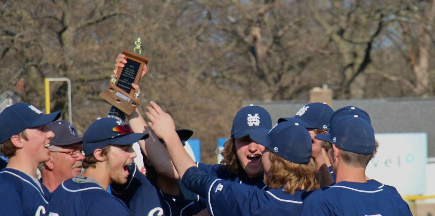 Mona Shores unloads on Reeths-Puffer in the finals, wins GMAA city tournament baseball title