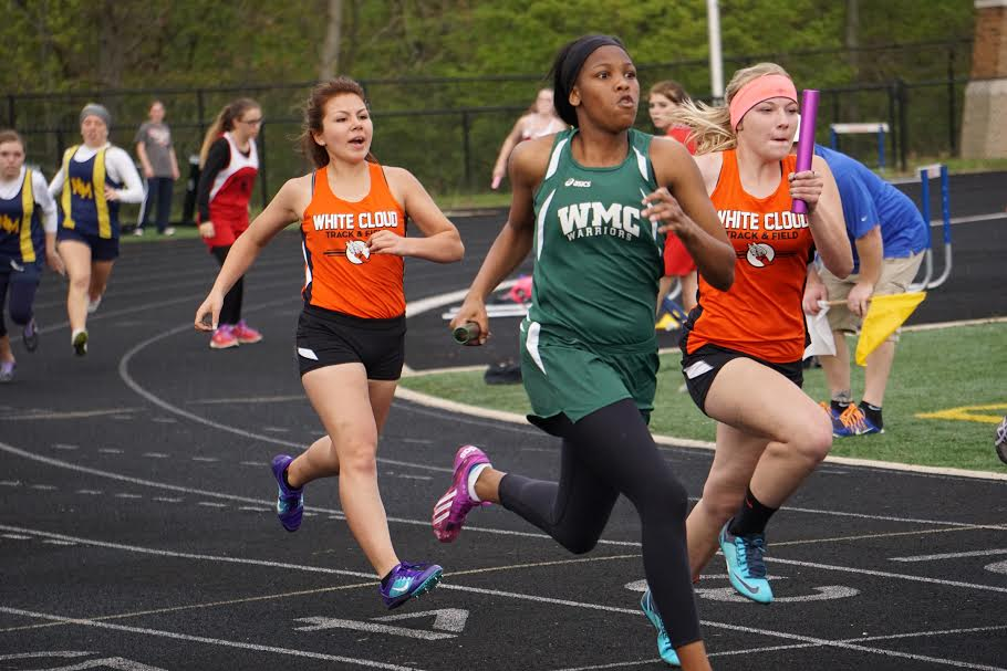Girls track results from West Michigan All-Star Invitational