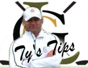 Ty's Tips logo art
