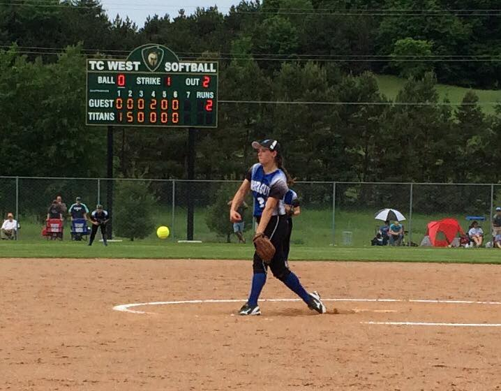 Montague's Cinderella softball season continues with stunning quarterfinal win over Traverse City St. Francis