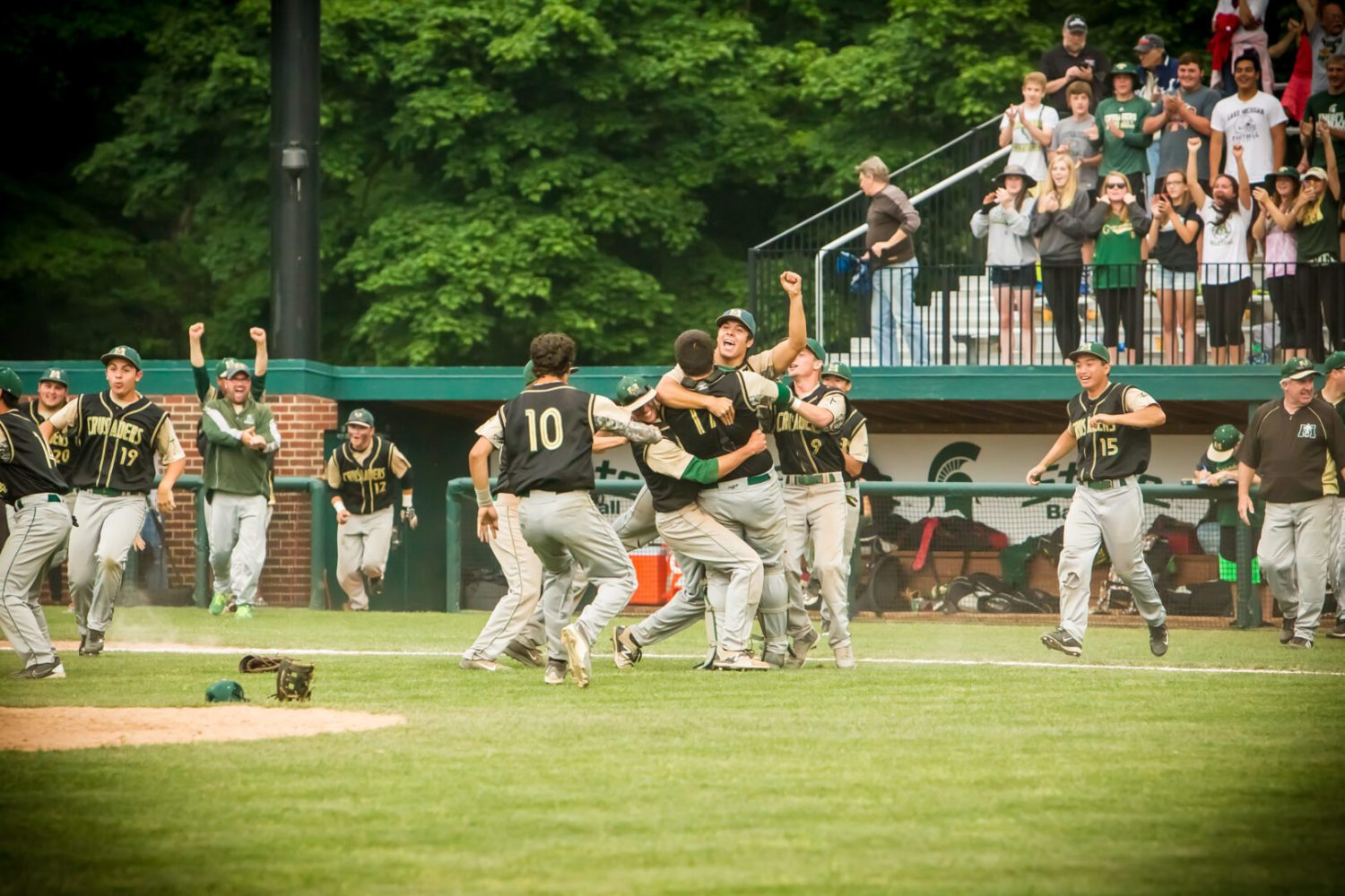 Photo gallery from Muskegon Catholic's baseball state championship